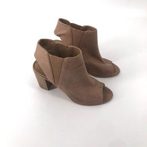 Women's Brown Boots Steve Madden Leather Boots Ope